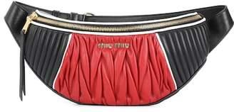 Miu Miu Matelassé leather belt bag