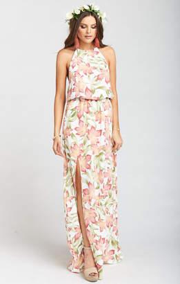 Show Me Your Mumu Heather Halter Dress ~ Lily Lady