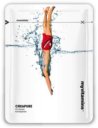 Myvitamins Creatine Monohydrate (Creapure®) - 90capsules - Pouch - Unflavoured