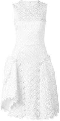 Simone Rocha scalloped brocade dress
