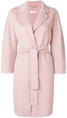 Max Mara 'S belted wrap coat