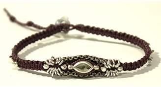 Chan Luu Eggplant Single Wrap Bracelet