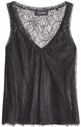The Kooples Top with Lace Overlay