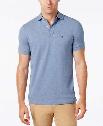 Tommy Hilfiger Men's Custom-Fit Ivy Polo $49.50 thestylecure.com