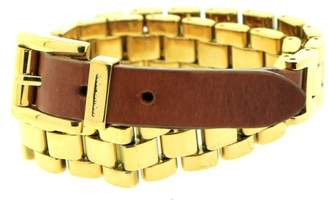 Michael Kors Gold Double Wrap Watch Link Bracelet