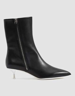 Jil Sander Two-Tone Heeled Boot