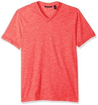 Perry Ellis Men's Texture Slub V-Neck Tee Shirt