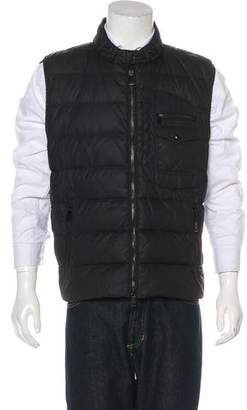 Ralph Lauren Black Label Down Quilted Puffer Vest
