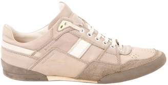 Christian Dior Beige Leather Trainers