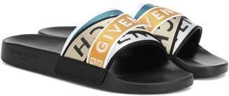 Givenchy 4G jacquard slides