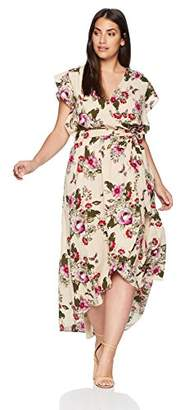 City Chic Women's Apparel Women's Plus Size Maxi Lolita Floral