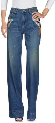SANDRINE ROSE Denim pants - Item 42587477TX