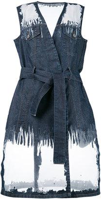 Diesel tie front dress $628.58 thestylecure.com