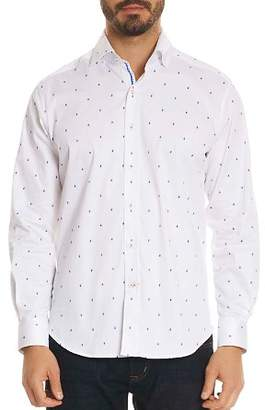 Robert Graham Mack Paisley Classic Fit Button-Down Shirt