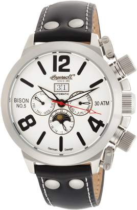Ingersoll Men's IN1202SL Bison Number 05 Automatic Silver-Tone Watch