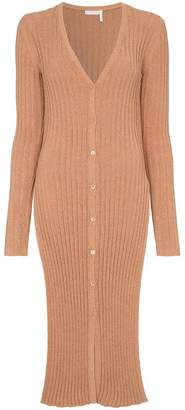 See by Chloe Ribbed knit cardigan