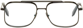 Victoria Beckham Black Navigator Glasses