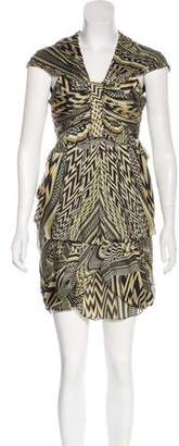 Givenchy Sleeveless Printed Dress