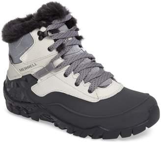 Merrell Aurora 6 Waterproof Faux Fur Lined Boot