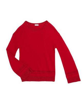 Splendid Girl's Lurex Knit Sweater, Size 7-14