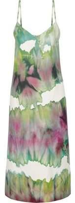 Acne Studios Sway Printed Crepe Midi Dress