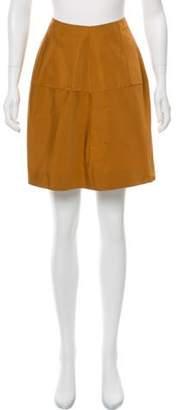 Marni Aline Mini Skirt Yellow Aline Mini Skirt