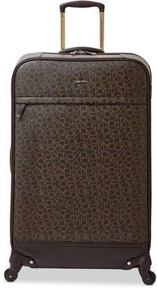 """Calvin Klein Mulberry 29"""" Softside Spinner Suitcase"""