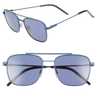 Fendi 55mm Polarized Navigator Sunglasses