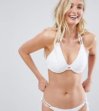 Freya Sundance bikini top in white