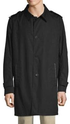The Kooples Technical Cotton Topcoat