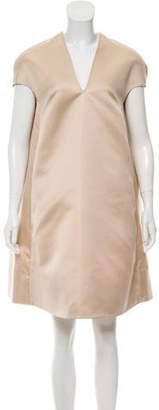 Rochas Satin Mini Dress