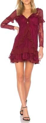 For Love & Lemons Daphne Lace Mini-Dress