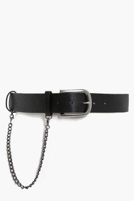 boohoo Chain Detail Boyfriend Belt