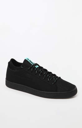 Puma x Diamond Supply Co Basket Sock Lo Black Shoes
