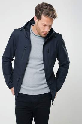 Next Mens Threadbare Hooded Jacket