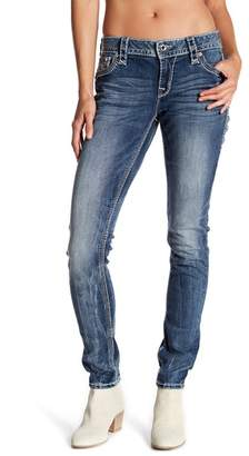 Rock Revival Betty Embellished Easy Skinny Jeans