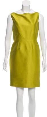 Oscar de la Renta Mini Sheath Dress