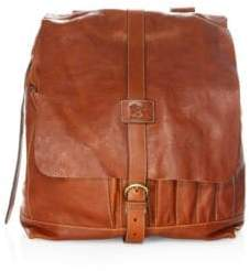Il Bisonte Buckle-Strap Backpack