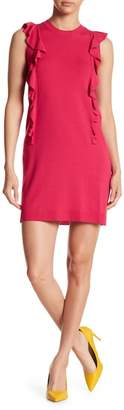 Love Moschino Vestito Ruffle Knit Dress