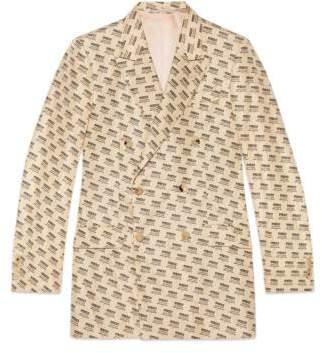 Gucci stamp formal jacket