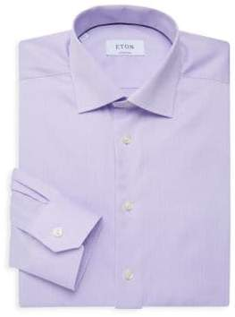 Eton Contemporary-Fit Twill Button-Down Shirt