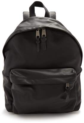 Eastpak Padded Pak'r leather backpack