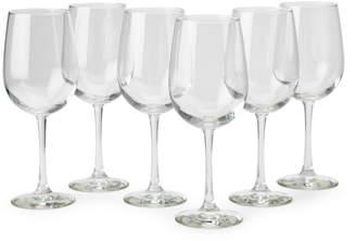 Libbey Set of 6 Vina Oversize Wine Goblets