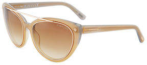Tom Ford Cat-Eye Plastic Sunglasses