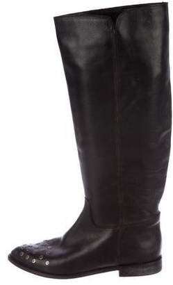 Golden Goose Studded Knee-High Boots