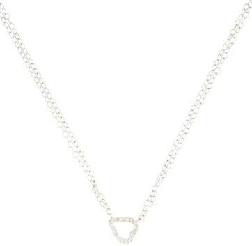 AdinaAdina Reyter Diamond Heart Pendant Necklace