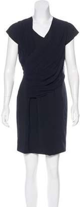 Lanvin Cap Sleeve Mini Dress