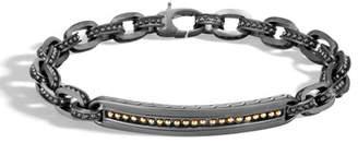 John Hardy Men's Classic Chain Jawan Station Bracelet