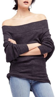 Women's Free People Palisades Off The Shoulder Top $68 thestylecure.com
