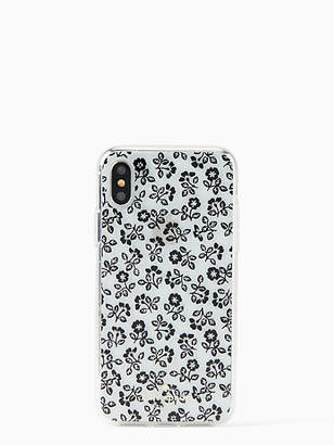 Kate Spade Jeweled plains iPhone x case